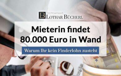Verstecktes Geld des Vormieters gefunden – Bekomme ich Finderlohn?