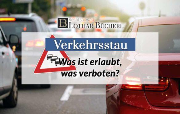 Verhalten im Stau – Was sagt das Verkehrsrecht?